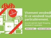 Vendredi novembre, c'est journée shopping site Apple