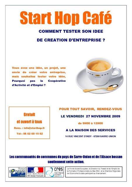 1er Starthop Café à Sarre-Union