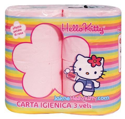 [E13] J7 Midi-Pyrénées - Lyon  Italie-papier-toilette-hello-kitty-L-1