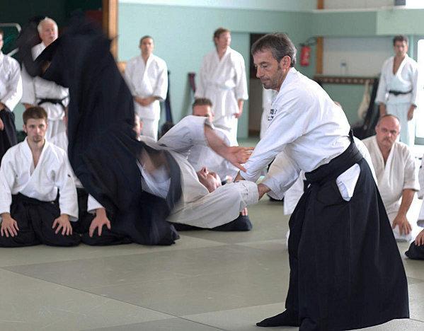 Aïkido de l'école Iwama Ryu -- alt=
