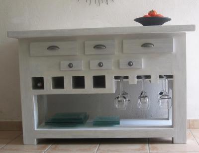 table console de cuisine voir. Black Bedroom Furniture Sets. Home Design Ideas