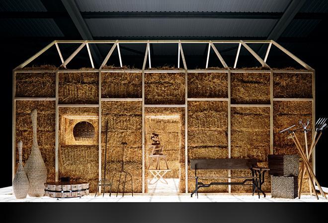 la maison de paille de dan tobin smith house of straw paperblog. Black Bedroom Furniture Sets. Home Design Ideas