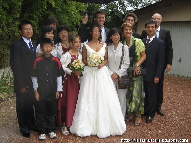 Photos de notre mariage en France