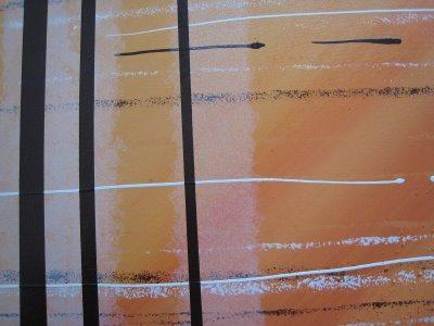 Tableaux contemporains abstraits N°27 et 28