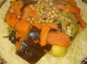 Couscous tête mouton légumes