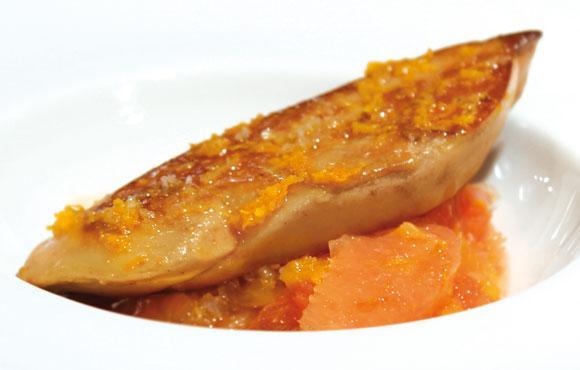 foie gras po l compot e d agrumes et vinaigre parfum la mandarine d couvrir. Black Bedroom Furniture Sets. Home Design Ideas