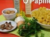 Pâtes sauce persil noix