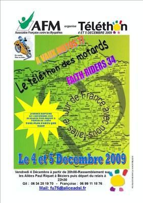 Téléthon 2009 Béziers