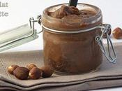 Cadeau gourmand: pâte tartiner chocolat-noisettes sans beurre