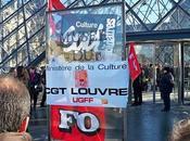 Louvre grève