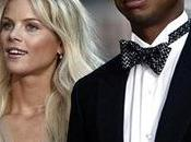 golfeur Tiger Woods trompe femme