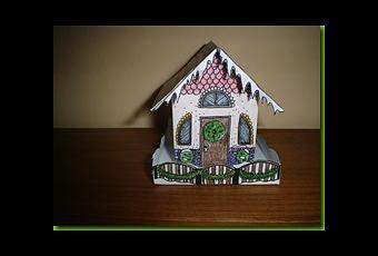 construire une petite maison en papier d couvrir. Black Bedroom Furniture Sets. Home Design Ideas