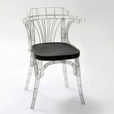 Grid chair la chaise aussi belle que la tour eiffel for Chaise pied tour eiffel