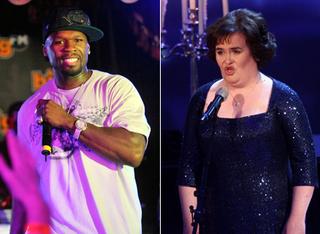 50 Cent aimerait écrire pour Susan Boyle