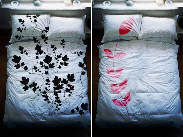 parures de lit originales paperblog. Black Bedroom Furniture Sets. Home Design Ideas