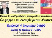 Conférence docteur Marc Girard Evreux sujet grippe H1N1