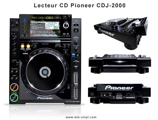 lecteur cd pioneer cdj 2000 paperblog. Black Bedroom Furniture Sets. Home Design Ideas