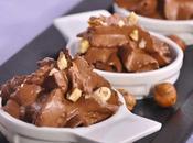 Mousse noisette chocolat