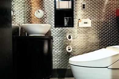 D co des toilettes d couvrir - Deco van wc ...