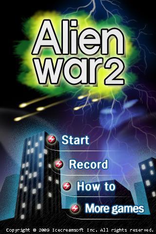 [Application IPA] Exlusivité : Alien War 2