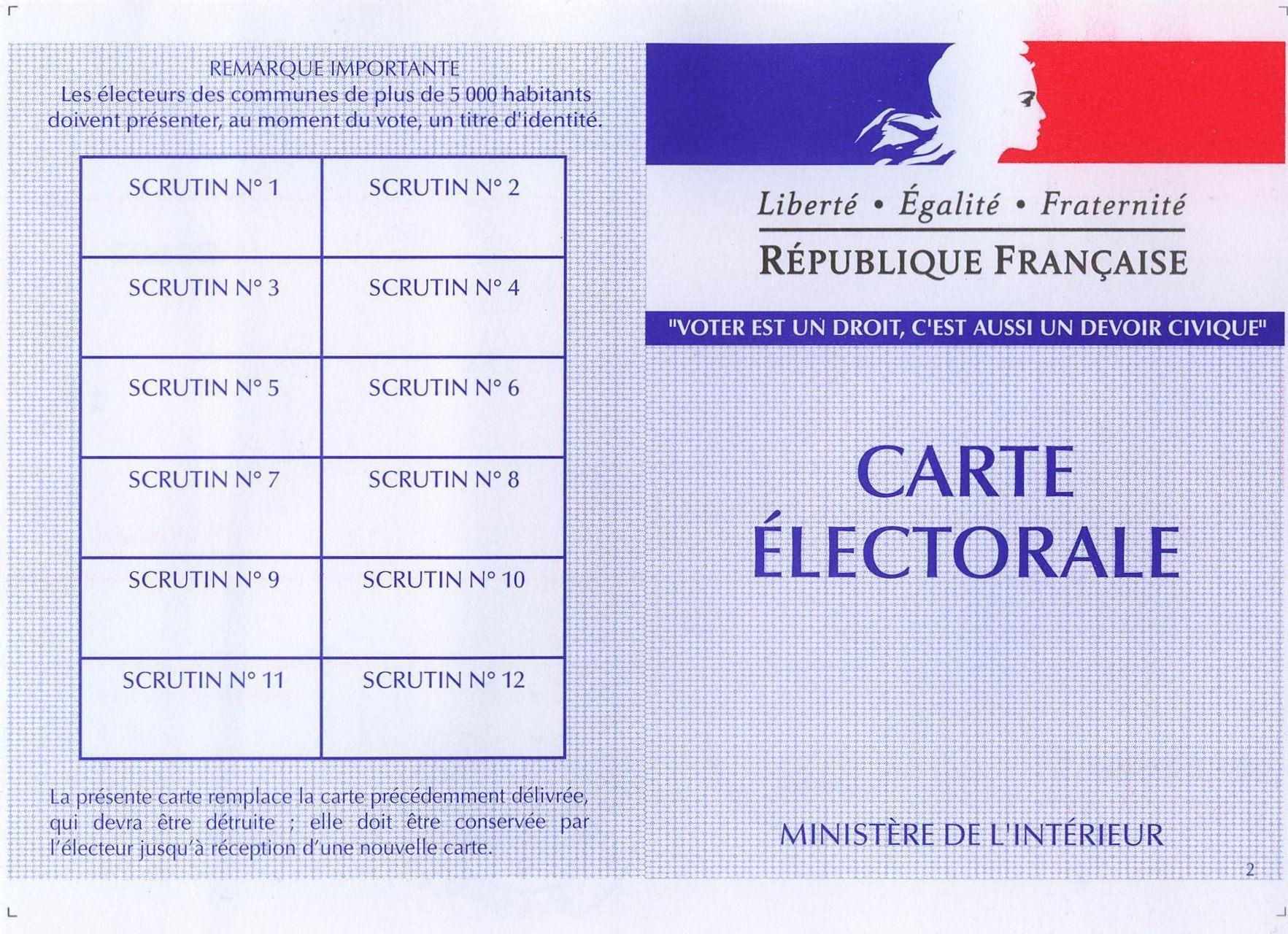 Strasbourg, Inscriptions sur la liste électorale… - Paperblog