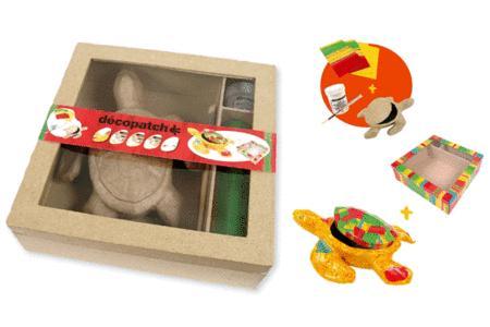 une id e cadeau original le kit d copatch tortue d couvrir. Black Bedroom Furniture Sets. Home Design Ideas
