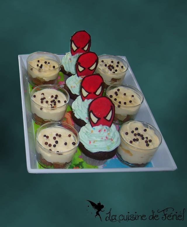 Gâteaux spiderman