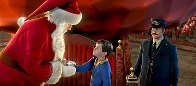 Le Père Noël à la fête