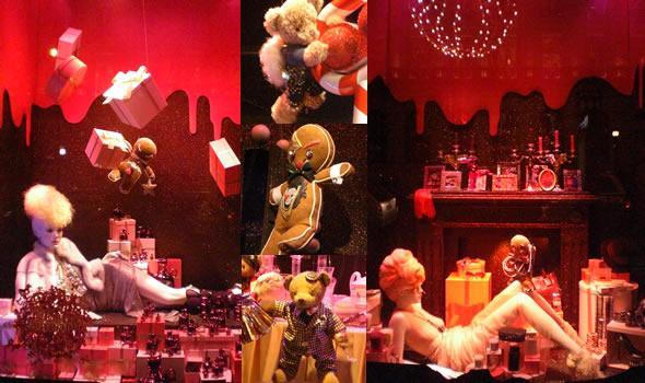 F riques vitrines de no l les galeries lafayette hausmann paris paperblog - Vitrine noel galerie lafayette ...