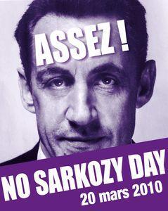Crise sociale  * La Fronde * - Page 2 No-sarkozy-day-200310-suite-reactions-L-1