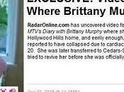 Voyez vidéo montre décédé Brittany Murphy