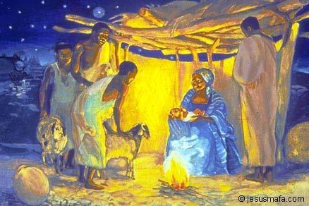 Nativité, Naissance de Jésus