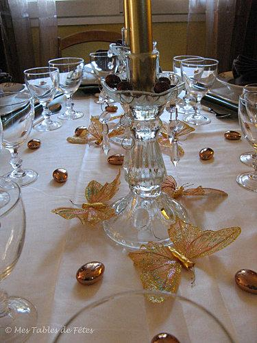 Tables mes d co de no l paperblog for Decoration de noel pour table