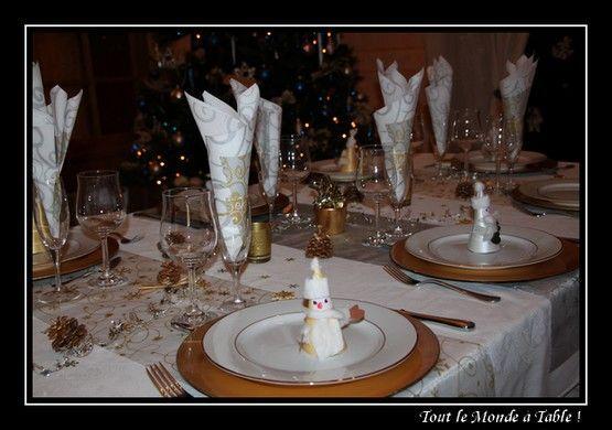 Le forum de la tnt joyeuses f tes de fin d for Decoration de table de noel argent
