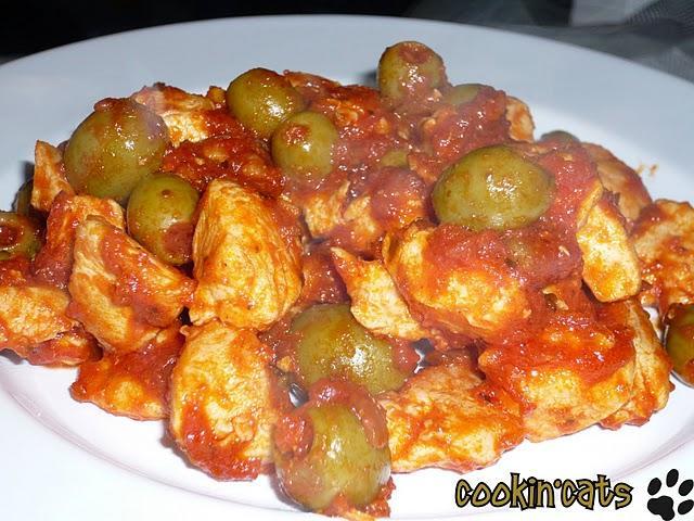 Filets de poulet sauce aux olives d couvrir for Marinade poulet huile d olive