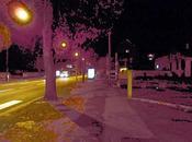 Avenue André Malraux Metz (nuit)