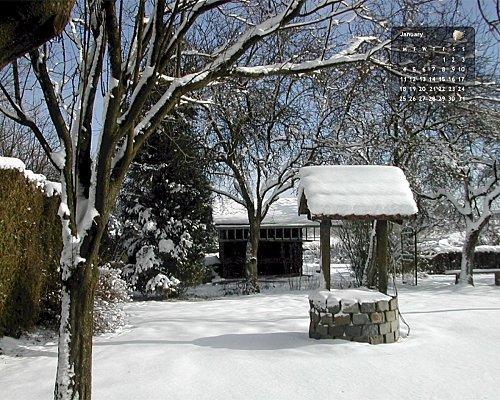 Les calendriers fond d cran du mois de janvier 2010 for Fond ecran gratuit pour ordinateur hiver