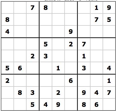 Sudoku grab le sudoku en r alit augment e et num risation de grille papier d couvrir - Grilles sudoku gratuites ...