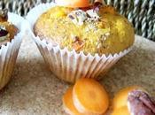 Muffins carotte noix pécan