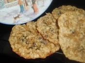 Biscuits flocons d'avoine, beurre cacahuètes pépites chocolat Martha Stewart
