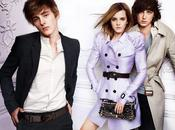 Emma Watson pour Burberry printemps 2010 Mario Testino