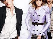 Emma Watson pour collection printemps/été 2010 Burberry