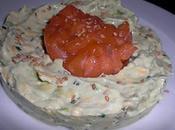 Saumon guaccamole