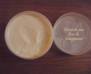 Crème de jour à la fleur de frangipanier