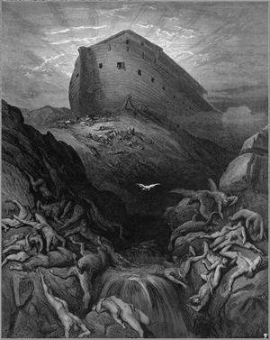 Le déluge et L'Arche de Noé