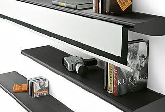 l tag re cachait un cran home cin ma voir. Black Bedroom Furniture Sets. Home Design Ideas