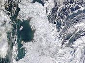 Royaume-Uni sous neige.