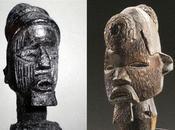 Statuettes scarifiées Afrique centrale