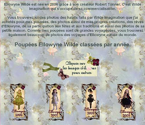 "Ellowyne WILDE in Wonderland: mon ""site de chevet"""