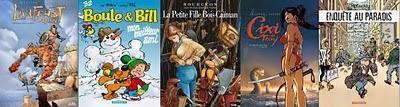 Meilleures ventes BD hebdomadaires au 10 janvier 2010